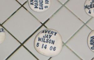Hand-Stamped Baptismal Stones
